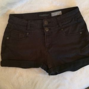 Aeropostale High Waisted Shorty Shorts